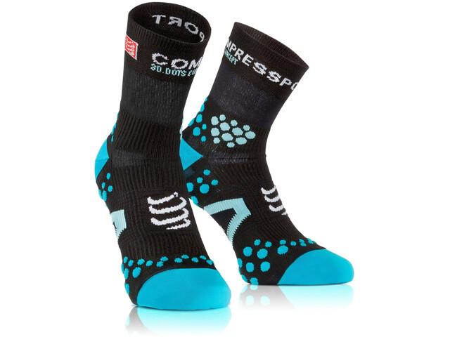 Compressport Racing V2.1 Run High Socks Black/Blue